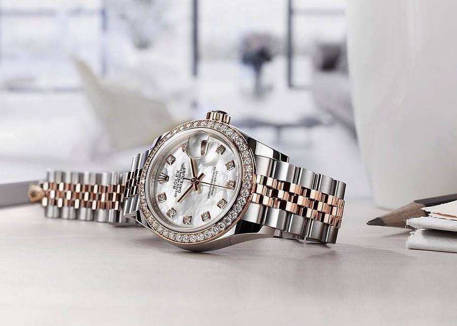 Đồng hồ Oyster Perpetual Lady-Datejust