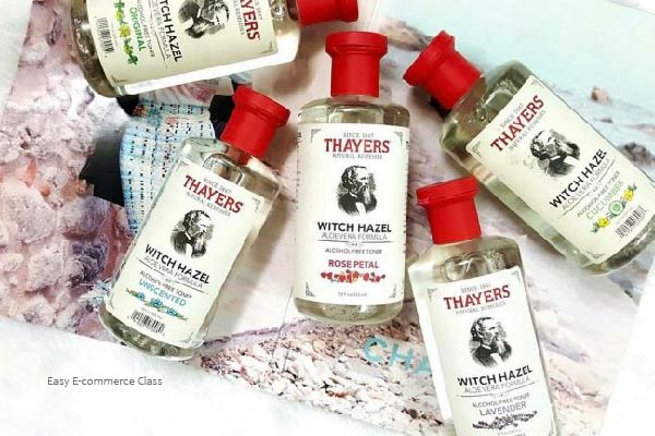 Thayers Unscented Witch Hazel Toner- 100% Alcohol-Free