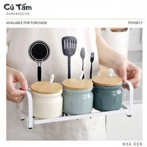 Set 3 hũ gia vị thông minh cho căn bếp hiện đại